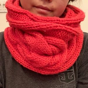 Knitted Circle scarf